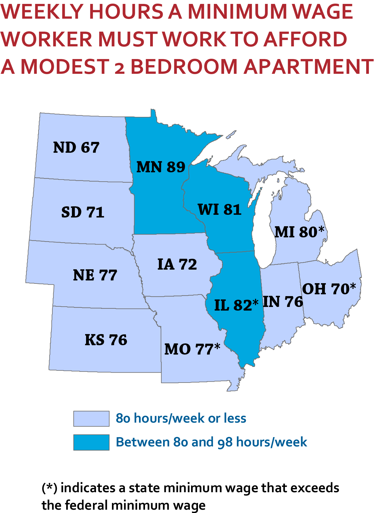 midwest map oor 2013